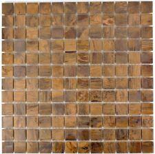 Mosaik Fliese Kupfer kupfer braun Wandverblender | 49-1510_f | 10Matten