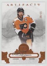 2017-18 Upper Deck Artifacts Orange #53 Claude Giroux Philadelphia Flyers Card