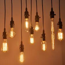 Vis E27 60 W Vintage Antique Style Rétro Lumière Filament Edison Ampoule De Lampe UK