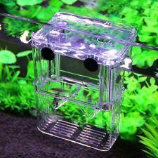 Aquarium Hatchery Trap Fish Breeding Box Tank Fry Pregnant Breeder S L Size