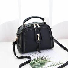 Women Solid Tote Bags Blue Top-Handle Luxury Design Silver Cross Body Handbags