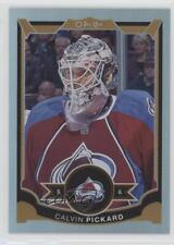 2015 O-Pee-Chee Rainbow Foil #280 Calvin Pickard Colorado Avalanche Hockey Card