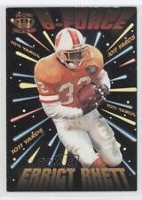 1995 Pacific G-Force #GF-10 Errict Rhett Tampa Bay Buccaneers Football Card