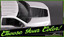 2015 2016 Ford F-150 F150 Matte Black Hood Black Out Stripe Graphics #3