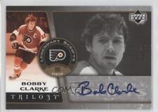 2006-07 Upper Deck Trilogy Legendary Scripts LS-BC Bobby Clarke Auto Hockey Card