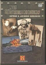 NO SURRENDER GERMAN & JAPANESE KAMIKAZES - 2 DVD BOX SET History Channel