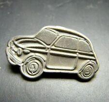 FIAT **500** Spillino pin in argento 925 brunito