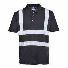 Portwest Hi-vis-Iona Seguridad Workwear Poloshirt de manga corta