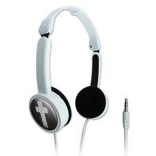 Novelty Travel Portable On-Ear Foldable Headphones Religious