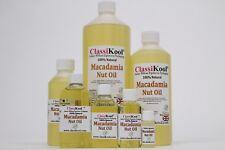 Classikool Natural Macadamia Carrier Oil: Moisturising Skin & Dry Hair Treatment