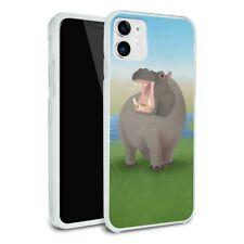 Hippopotamus Goes Roar Apple iPhone 8, 8 Plus, X, 11 Case