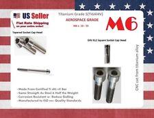 M6 Titanium Bolts x 10 15 18 20 25 30 35 40 45 50 55 mm Taper Socket Head GR5