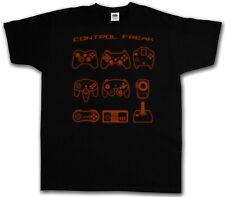 CONTROL FREAK II T-SHIRT - Video Game Controller NES Evolution Joystick Gamepad