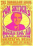 DVD Tom Snyder's Electric Kool-Aid Talkshow Grateful Dead Cassidy Dire Wolf NEW