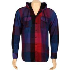 JSLV Hoodlum Woven Long Sleeve Shirt (royal / red) MWV8002ROR