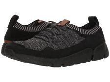 Men's Shoes Clarks TriActive Knit Lace Up Sneaker 33890 Black *New*