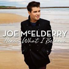 Joe McElderry - Here's What I Believe - Joe McElderry CD 7KVG The Cheap Fast