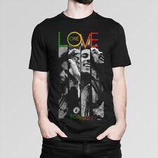 Bob Marley 'One Love'  Music T-Shirt,  Men's Women's All Sizes