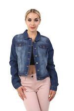 Ladies Ex High Street Authentic Denim Blue Womens Jacket