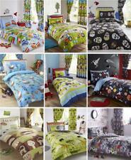 BOYS KIDS BEDDING Duvet sets childrens bedroom fun quilt cover bed sets