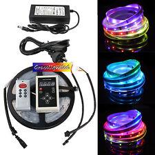 5M 5050 150LED RGB Dream Color 6803 IC LED Strip Light 133 Change RF Remote IP67