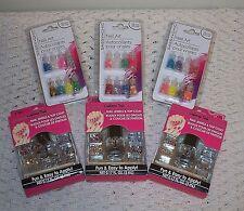 ☆California Nail Jewels & Top Coat☆Sassy & Chic Glitter☆Holiday Nail Art☆Pick 1☆