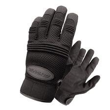 Olympia 760 Mens Air Force Gel Black Mesh Sport Gloves