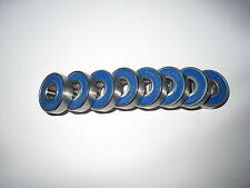 SKATEBOARD HYBRID CERAMIC Si3N4 BALL BEARINGS 8 PIECE KIT