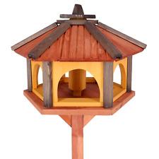 Mangeoire d'oiseaux mangeoires à oiseaux mangeoire avec le support bois jardin