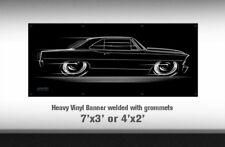 BIG BANNNER Chevy Nova 1966 1967 Chevrolet Chevy II SS 66 67