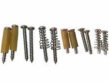 Telecaster/TELE NECK Pickup Vis Haut ou Bas Montage tubes ou Springs