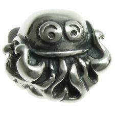 925 Sterling Silver Cute Ocean Octopus Bead For European Charm Bracelets