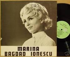 LP Marina Bagdad Ionescu same Private France 1975 NM