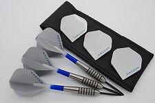 25g 27g 32g Tungsten darts set 'BOMBERS' Standard shape flights, shafts & case