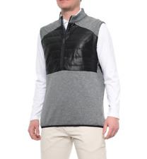 adidas ClimaHeat® Quilted Vest - Zip Neck Men's $100 Retail