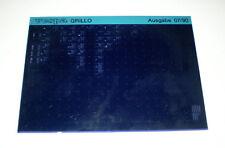 Microfich Ersatzteilkatalog Vespa Grillo Stand 07/1990