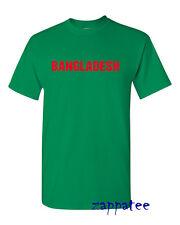 Bangladesh T Shirt - Adults & Kids sizes. Support football, cricket etc.