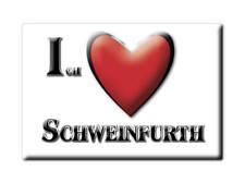DEUTSCHLAND SOUVENIR - SACHSEN MAGNET ICH LIEBE  SCHWEINFURTH (MEIßEN)