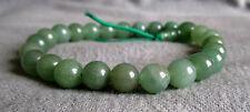 Buddha-Armband aus mittelgrünem Aventurin 15 bis 20 cm - Power-Beads.