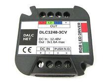 Dalcnet EasyRGB Centralina Controller Dimmer Per Striscia Led RGB DC12V 24V 48V
