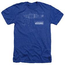 Warehouse 13 Sci-Fi Fantasy TV Series Tesla Gun Adult Heather T-Shirt Tee