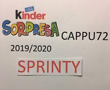 Srinty- Kinder Überraschung 2019/20-SCEGLI Ihr Charakter