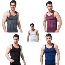 Men Slim Shirt Body Shaper Tummy Belly Slimming Underwear Undershirt Vest Lot
