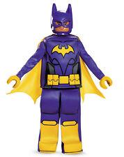 Lego Batgirl Deluxe Halloween Costume Dress S M L Girl Child Kids Movie