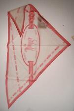 Sciarpa Fendi Scarf Scarves Foulard -50% Seta Uomo Bianco FXT880NHD-F0TX3 SALDI