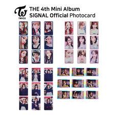 TWICE - 4th mini album : Signal Official Photocard