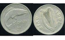 IRLANDE  1 florin 1962  ANM  ( bis )