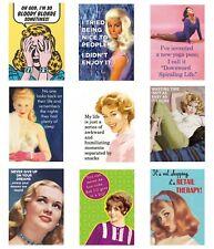 Retro Humour Women Quotes Fridge Magnet Gift Novelty Funny Ladies Girls Meme