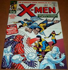 UNCANNY X-MEN #1 POSTER MAGNETO CYCLOPS PHOENIX MARVEL ICEMAN BEAST STAN LEE MCP