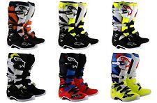 Alpinestars Tech 7 Boots Riding Motocross Racing Motorcycle Men
